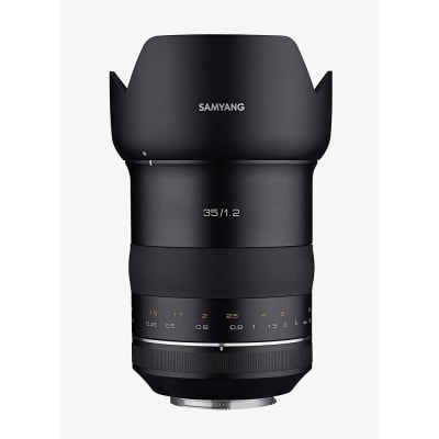 SAMYANG XP 35MM F1.2 HIGH SPEED WIDE ANGLE LENS FOR CANON EF