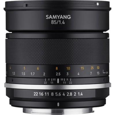 SAMYANG MF 85MM F/1.4 WS MK2 LENS FOR CANON EF