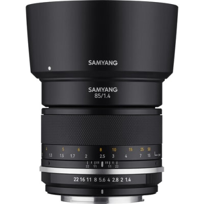 SAMYANG 85MM F/1.4 MK II LENS FOR NIKON