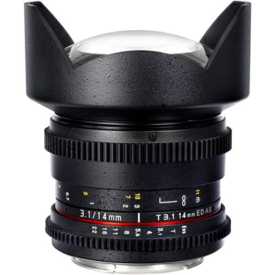 SAMYANG 14MM T3.1 CINE LENS FOR SONY E-MOUNT