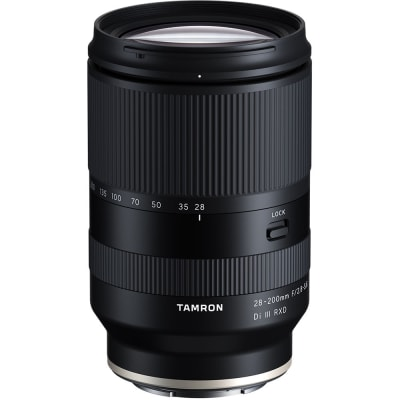 TAMRON 28-200MM F/2.8-5.6 DI III RXD LENS FOR SONY E-MOUNT (FULL FRAME)