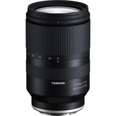 TAMRON 17-70MM F/2.8 DI III-A VC RXD LENS FOR SONY E-MOUNT (APS-C)