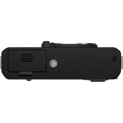 FUJIFILM X-E4 MIRRORLESS DIGITAL CAMERA WITH XF 27MM F/2.8 R WR LENS (BLACK)