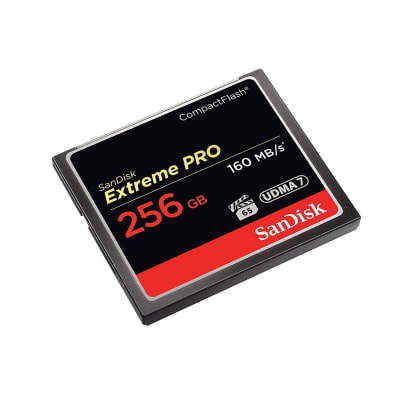 SANDISK 256GB CF EXTREME PRO 160MBPS
