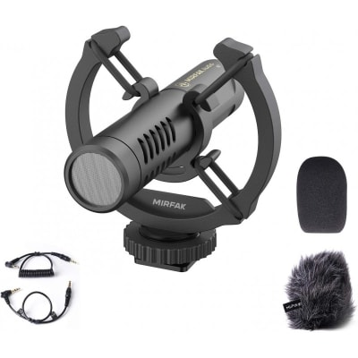 MIRFAK N2 ON-CAMERA SHOTGUN MICROPHONE