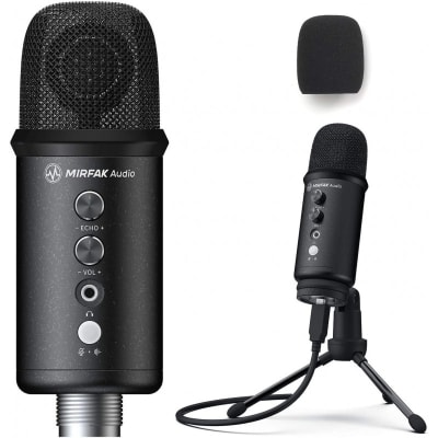 MIIRFAK TU1 USB DESKTOP MICROPHONE KIT FOR LOVE STREAMERS