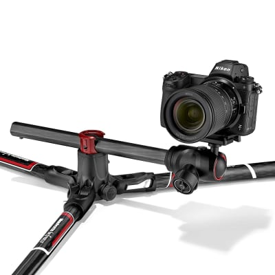 MANFROTTO BEFREE GT XPRO CARBON TRAVEL TRIPOD WITH 496 CENTER BALL HEAD