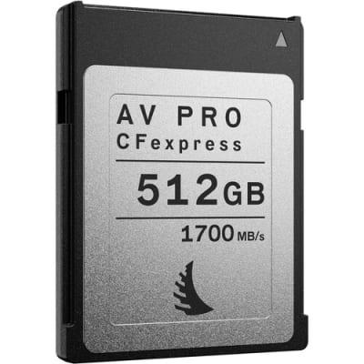 ANGELBIRD 512GB AV PRO CFEXPRESS 2.0 TYPE B MEMORY CARD