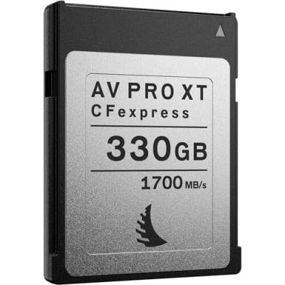 ANGELBIRD 330GB AV PRO CFEXPRESS XT MEMORY CARD