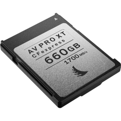 ANGELBIRD 660GB AV PRO CFEXPRESS XT MEMORY CARD