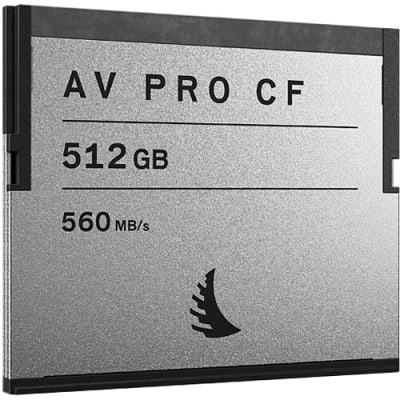 ANGELBIRD 512GB AV PRO CF CFAST 2.0 MEMORY CARD