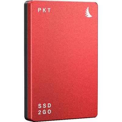ANGELBIRD 2TB SSD2GO PKT MK2 EXTERNAL SSD (RED)