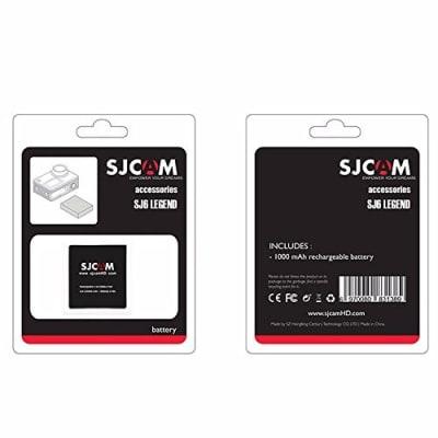 SJCAM SJ6 SERIES 3.8V 1000MAH LI-ION BATTERY FOR SJ6 LEGEND SPORT ACTION CAMERA