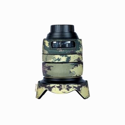 CAM-O-COAT COAT FOR NIKON 24-120MM F/4G VR MOTTLED WOOD GREEN (MWG)