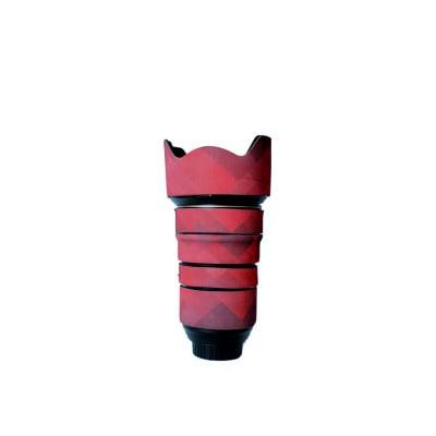 CAM-O-COAT COAT FOR NIKON AF-S FX NIKON 24-70 MM F/2.8E ED DEEP MAROON (DIM)