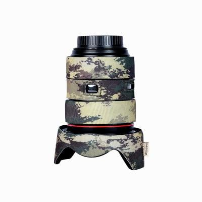 CAM-O-COAT COAT FOR CANON EF 24-105MM F/4L IS USM ZOOM LENS MOTTLED WOOD GREEN (MWG)