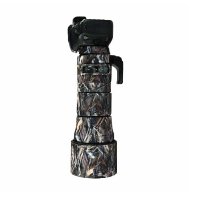 CAM-O-COAT COAT FOR SIGMA 150-600MM F/5-6.3 DG OS HSM SPORTS LENS ABSOLUTE INDIAN CAMO (AIC)