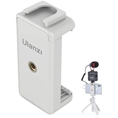 ULANZI 2152 ST-07 STRIGHT TYPE COLD SHOE PHONE MOUNT HOLDER / WHITE