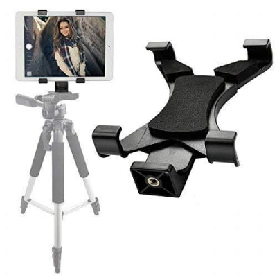 RELIABLE TABLET TRIPOD MOUNT HOLDER FOR TABLETS UPTO 20CMS/8 INCHES