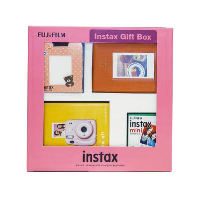 FUJIFILM INSTAX MINI 11 INSTANT CAMERA (ICE WHITE) GIFT BOX