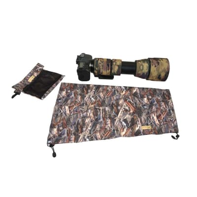 CAM-O-COAT PREMIUM QUALITY RAIN AND DUST PROTECTION COVER ABSOLUTE INDIAN CAMO (AIC) - LARGE