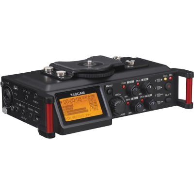 TASCAM DR-70D 6-INPUT / 4-TRACK MULTI-TRACK FIELD RECORDER WITH ONBOARD OMNI MICROPHONES