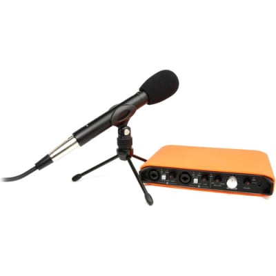 TASCAM IXR TRACKPACK - USB AUDIO/MIDI INTERFACE WITH IOS CONNECTIVITY, MICROPHONE & BAG