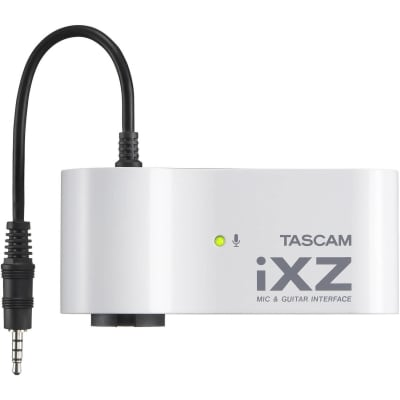 TASCAM IXZ MIC & INSTRUMENT INTERFACE FOR IPAD / IPHONE / IPOD TOUCH