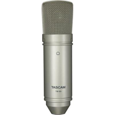 TASCAM TM-80 LARGE-DIAPHRAGM CARDIOID CONDENSER MICROPHONE