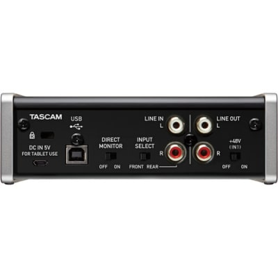 TASCAM US-1X2 1 IN 2 OUT USB AUDIO INTERFACE