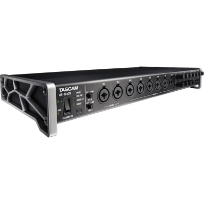 TASCAM US-20X20 - USB AUDIO INTERFACE WITH MIC PREAMPS/MIXER