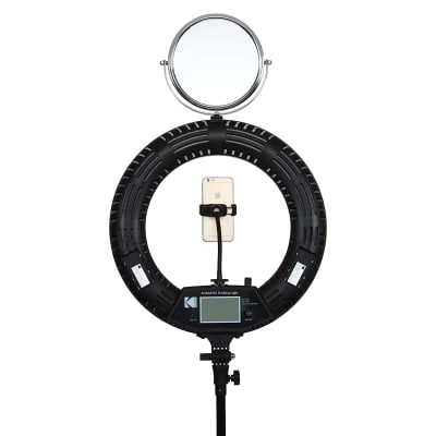 """KODAK R5 PRO 18"""" RING LIGHT WITH LCD DISPLAY AND REMOTE"""