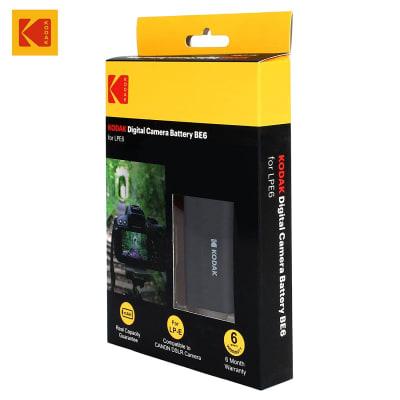 KODAK LPE6 BE6 7.4V 1800MAH 13.4WH DIGITAL CAMERA BATTERY
