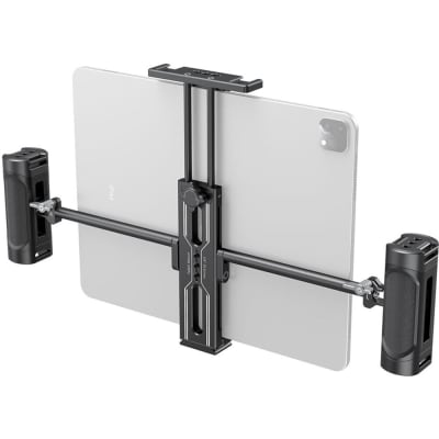 SMALLRIG 2929 TABLET MOUNT WITH DUAL HANDGRIPS FOR IPAD/TABLET