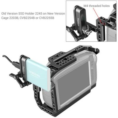 SMALLRIG 2203B FULL CAGE FOR BLACKMAGIC POCKET CINEMA CAMERA 6K/4K