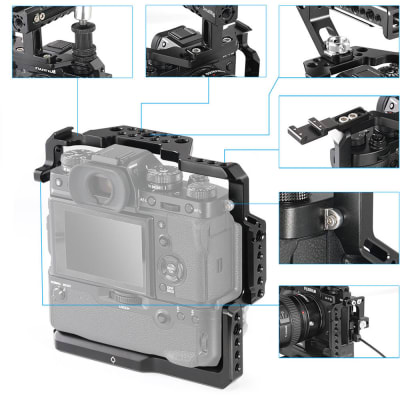 SMALLRIG 2229 CAGE FOR FUJIFILM X-T2 AND X-T3 CAMERA WITH BATTERY GRIP