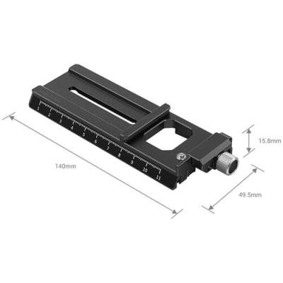 SMALLRIG 3061 MANFROTTO-STYLE QUICK RELEASE PLATE WITH ARCA-TYPE MOUNT FOR DJI RS 2/RSC 2