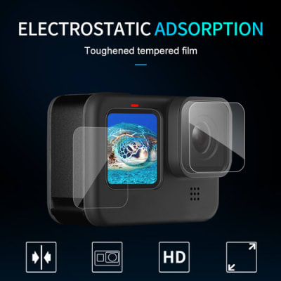 TELESIN GP-FLM-902 HIGH DEFINITION SCREEN PROTECTOR FOR GOPRO HERO 9
