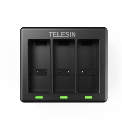 TELESIN GP-BCG-902 3-CHANNEL TRIPLE BATTERY CHARGER FOR GOPRO HERO 9