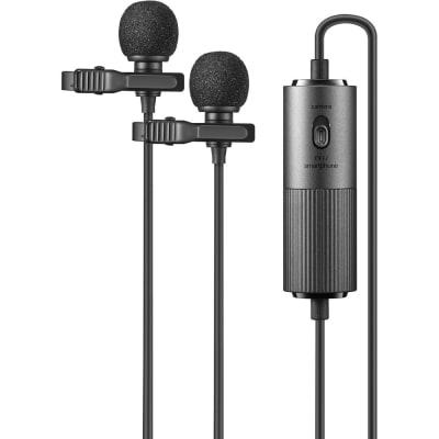 GODOX LMD-40C (DUAL OMNIDIRECTIONAL LAVALIER MICROPHONE)