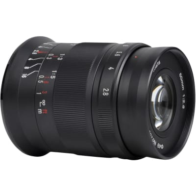 7ARTISANS PHOTOELECTRIC 60MM F/2.8 MACRO MARK II FOR MICRO FOUR THIRDS
