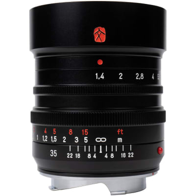 7ARTISANS PHOTOELECTRIC M35MM F/1.4 LENS FOR LEICA M BLACK