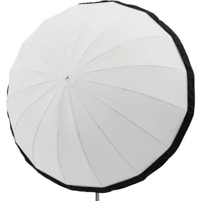 """GODOX DPU-165BS DIFFUSER FOR 65"""" WHITE DIFFUSION PARABOLIC UMBRELLA (BLACK/SILVER)"""