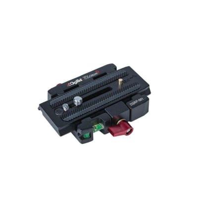 DIGITEK DQRP-001 PLATINUM PROFESSIONAL TRIPOD QUICK RELEASE PLATE WITH SAFETY LOCK
