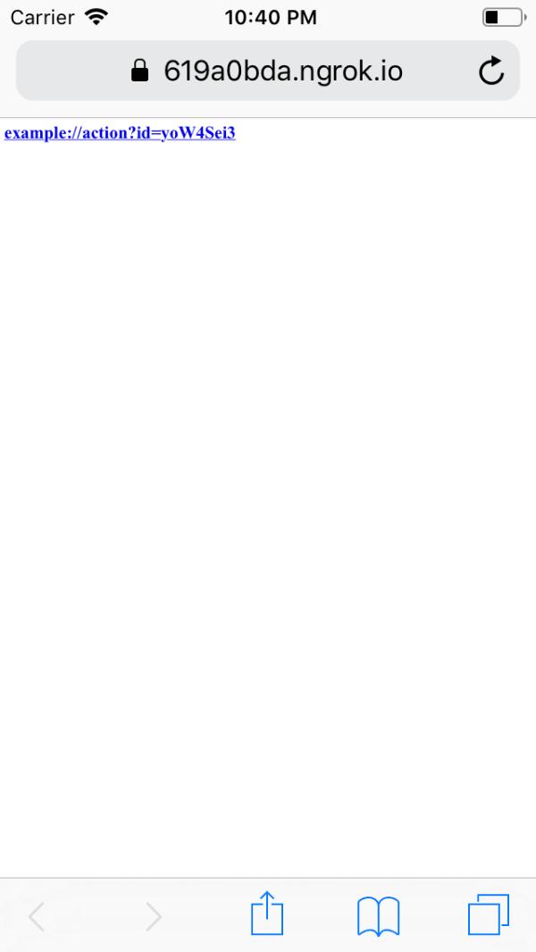 Custom URL Scheme | iOS App