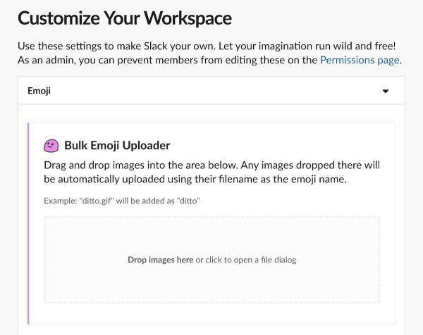 Bulk Emoji Uploader | Slack