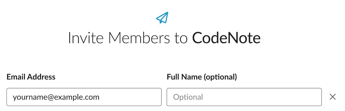 invite members to slack