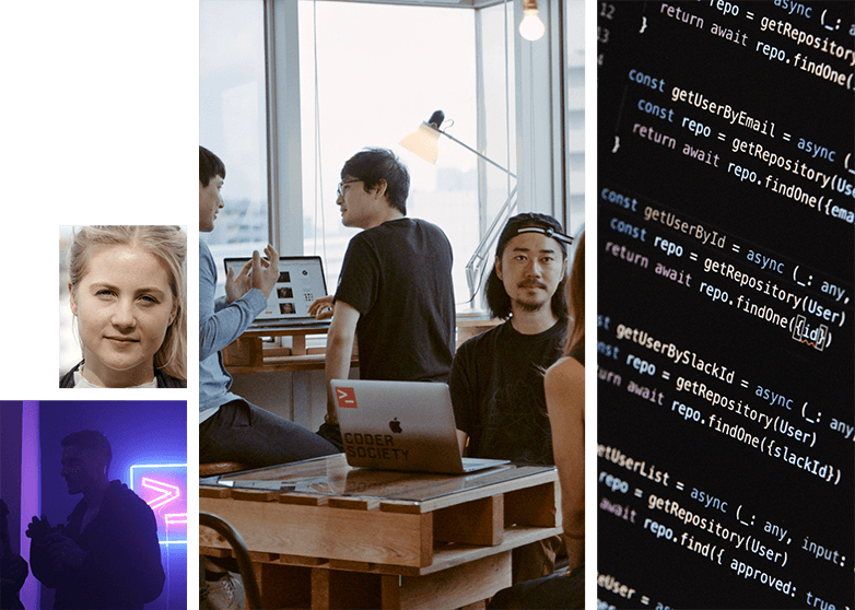 Coder Society is a remote-first freelance community of expert developers, designers and product managers