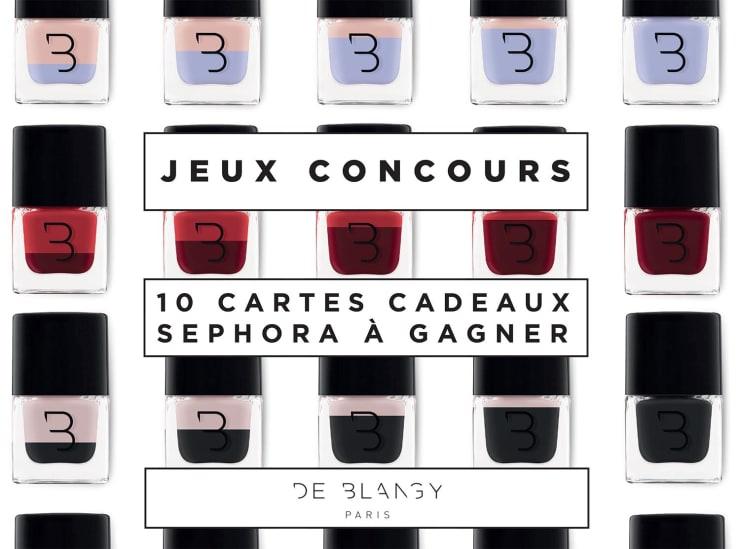 10 Cartes Cadeaux Sephora De 40 Euros à Gagner En Répondant