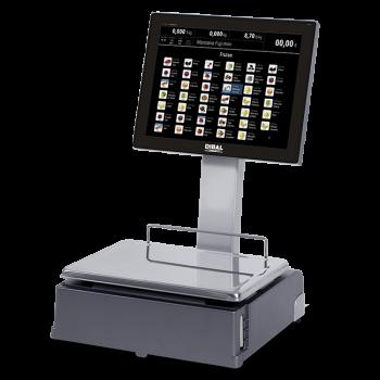 Pc-weegschaal met touchscreen (ticket- en/of labelprinter) | CS-1100 serie